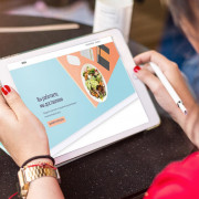 дипломный проект Эдуарда Рахматуллина — сайт start-up проекта Crunch