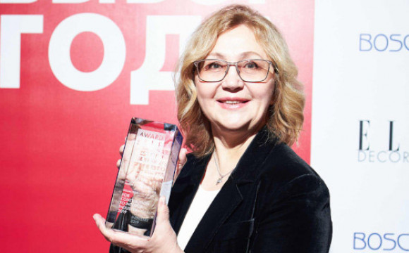 Надежда Лазарева стала обладателем Премии ELLE DECORATION!