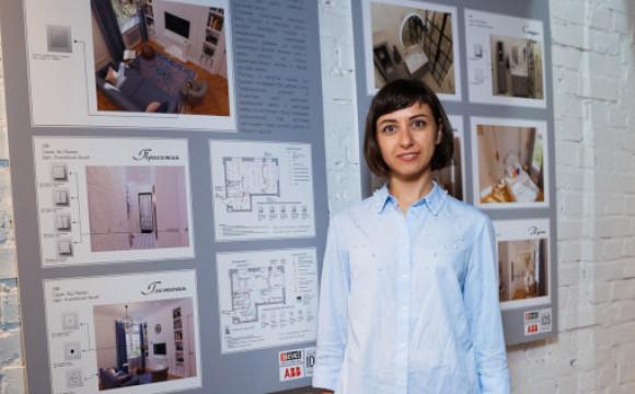 Поздравляем выпускницу IDS-Петербург, дизайнера Викторию Унольт, с победой в конкурсе ABB & Эlevel!