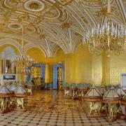 История дворцового интерьера главной императорской резиденции России