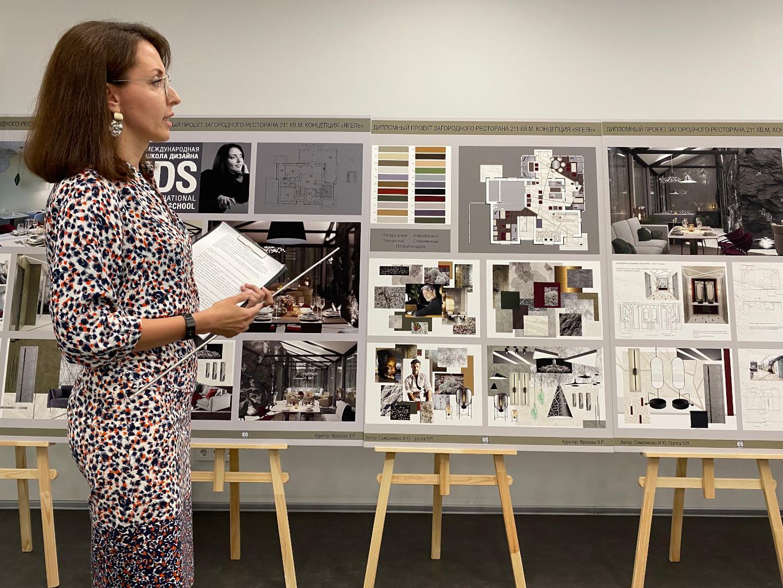 Студенты группы 528 успешно защитили дипломные проекты «Дизайн интерьера общественного помещения»!